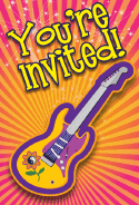 60s Guitar Invitation