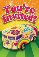 60s Van Invitation