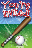Baseball Invitation