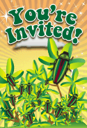 Beetles Invitation