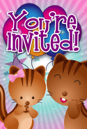 Chipmunks Invitation