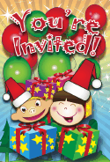 Christmas Kids Invitation