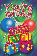 Christmas Presents Invitation