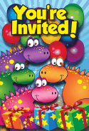 Dinosaurs Gifts Invitation