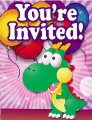 Dragon Small Invitation