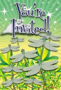 Dragonfly Invitation