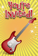 Guitar Invitation