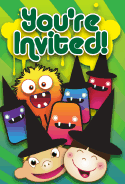 Halloween Kids Invitation