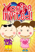 Kids with Grins Invitation