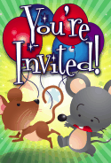 Mice Invitation