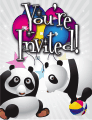 Pandas Small Invitation