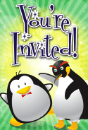 Penguins Invitation