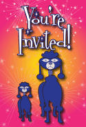 Poodle Invitation