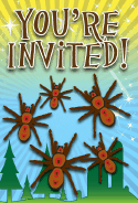 Spiders Invitation