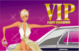 VIP Party Invitation with Limo