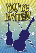 Violins Invitation