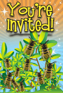 Yellowjacket Invitation